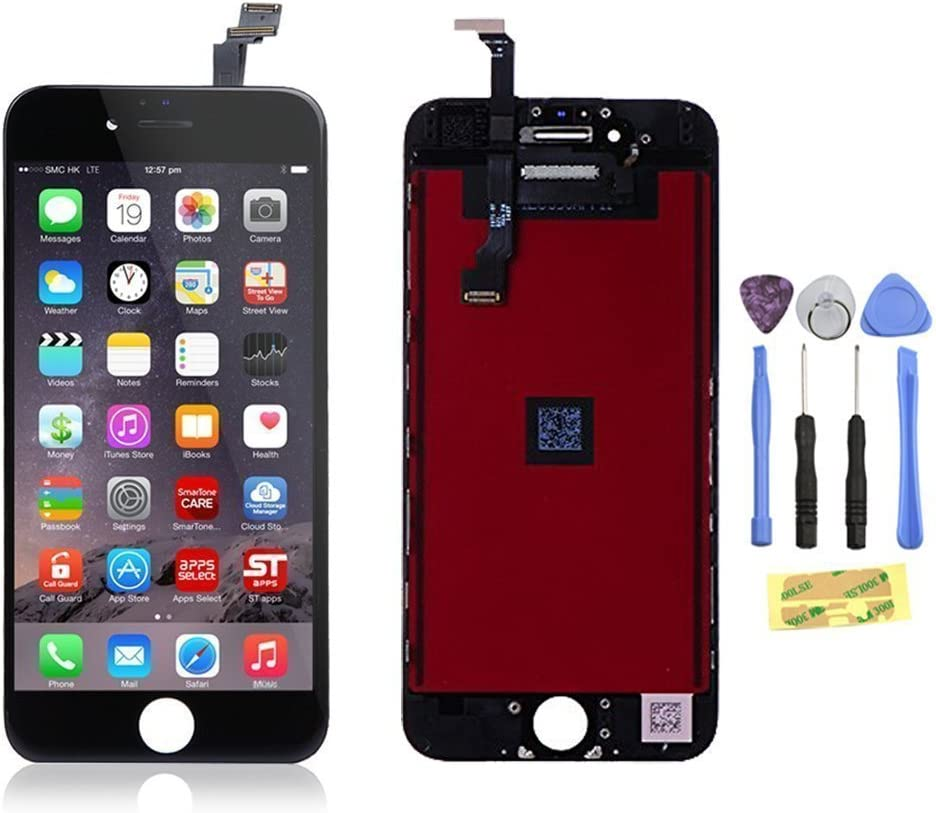 ZTR Replacement LCD Touch Screen Digitizer Assembly for iPhone 6/Plus (iPhone 6 Plus Black)