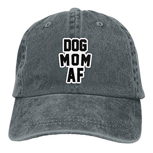 Jusxout Dog Mom AF Vintage Unisex Adjustable Baseball Cap Dad Hat
