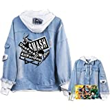 Boku No Hero Academia My Hero Academia Denim Jacket Graphic Hoodie Cosplay Unisex Anime