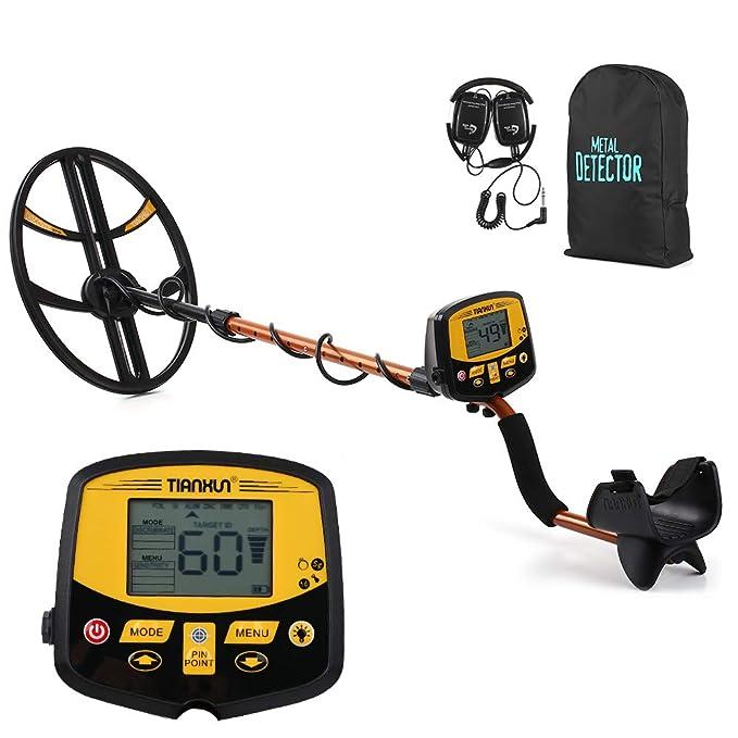 TIANXUN TIANXUN Detector de metales subterráneo profesional Alta sensibilidad Bajo tierra Detector de plata Plateado Buscador de joyas Buscador de joyas ...