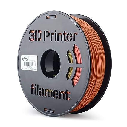 Walmeck Filamento de impresora 3D, 1 kg; Bobina FDM 3D ...