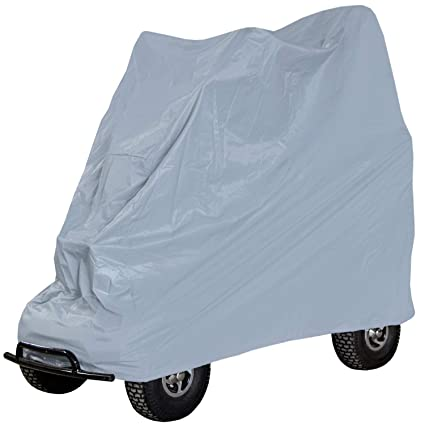 Rolektro Abdeckplane Abdeckhülle Garage für elektrische Krankenfahrstühle Rollstühle Grau L:135xB:50xH:120cm Oxford 600D