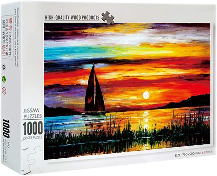 KOVIPGU 1000 Pcs//Pack Adult Puzzles Large Size Educational Gift Assemble Jigsaw Games