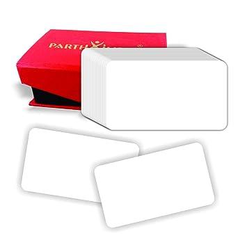 Amazon.com: Parth Impex en blanco tarjetas de visita 2