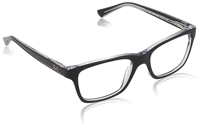 70af3823c1d Image Unavailable. Image not available for. Colour  Ray-Ban Full Rim Square  Men s Spectacle Frame ...