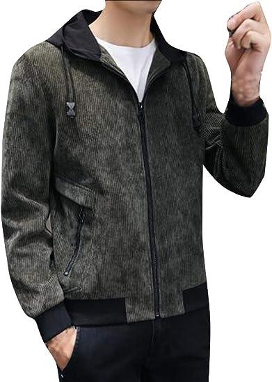(ネルロッソ) NERLosso ブルゾン メンズ コーデュロイ パーカ フード付 ジャンパー スタジャン 正規品 cmz24635