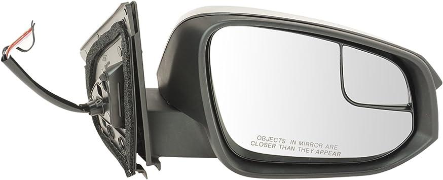 Side Mirror for Toyota RAV4 13-15 Power Heated Signal Light Passenger RH WHITE