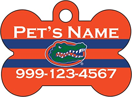 uDesignUSA NCAA Dog Tag Pet Id Tag Personalized w//Name /& Number