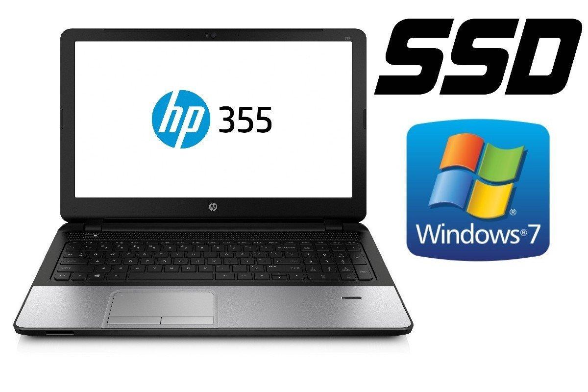 Portátil HP 355 G2, 128 GB SSD + 500 GB, 8 GB de RAM, 39 cm (15.6 ...