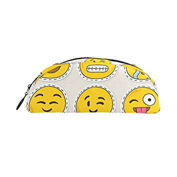 BONIPE - Estuche para lápices de emoticonos divertido, bolsa ...