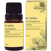 Óleo Essencial de Cedro 10 ml, By Samia, Multicor