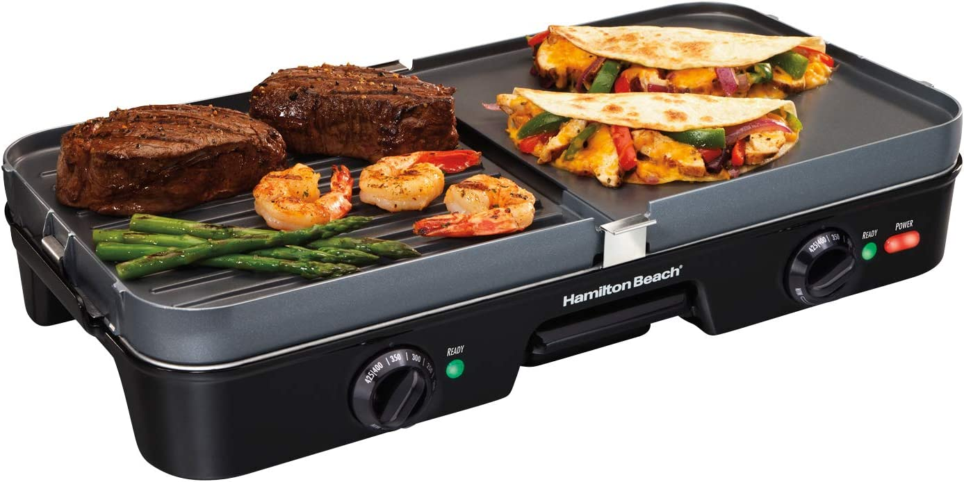 Hamilton Beach 38546 3-in-1 Electric Indoor Grill + Griddle review