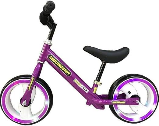 HUALQ Bicicleta Bebé Equilibrio Coche Niños sin Pedal Scooter ...
