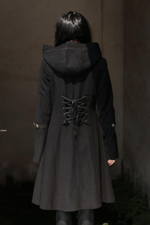 Pour Noir Romantique Gothique Femme Gothique Manteau manteau VpqMSGUz