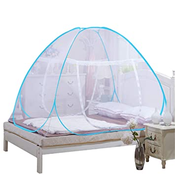 Bed Mosquito Net  Home Portable Foldable Mesh Sleep Travel Tent for Adult /& Kids
