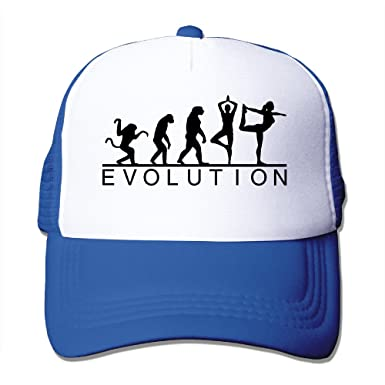 e566a66c Evolution Elegant Yoga Mesh Trucker Hats Snapback Cap -5 Colors at Amazon  Men's Clothing store: