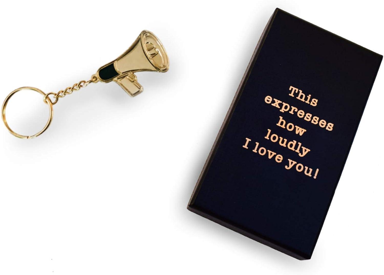 Cool TV Props - Office TV Merchandise - Dwight Schrute Keychain - Dwight Angela Megaphone Memorabilia