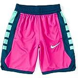 Nike Boy`s Dri FIT Elite Printed Basketball Shorts