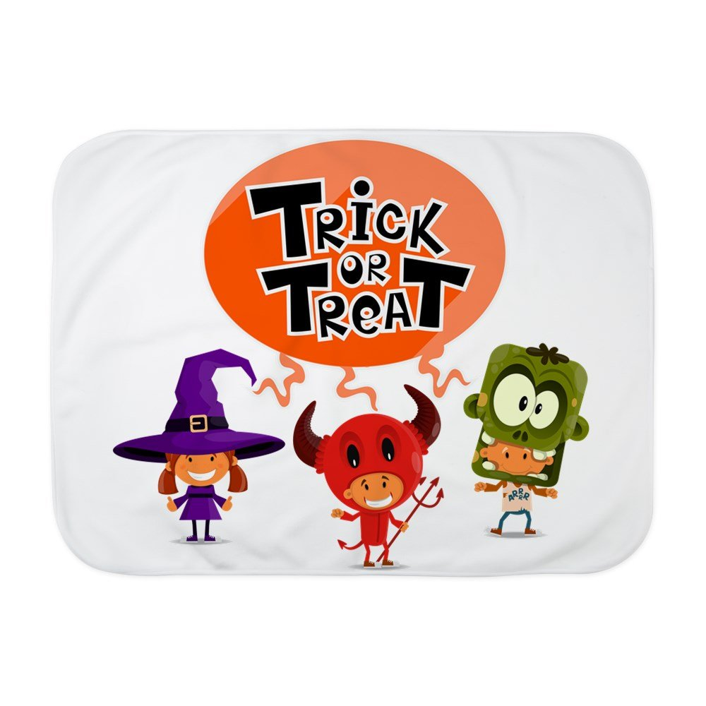 Royal Lion Baby Blanket White Halloween Trick or Treat Kids
