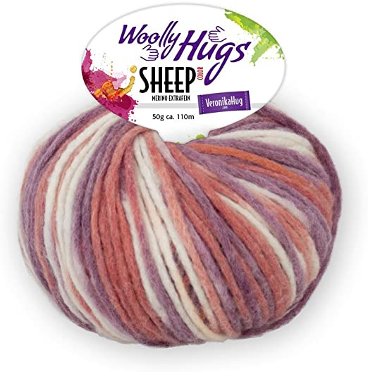 Woolly Hugs Sheep Color Merino extrafein 50g Farbe 87
