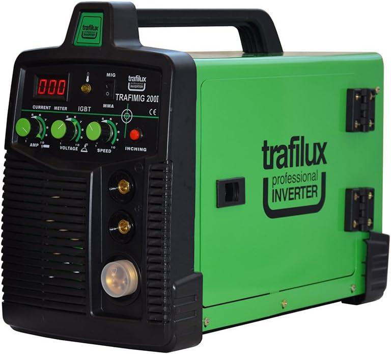 Trafilux M/áquina para soldar Mig//Mag Inverter Funci/ón MMA Transistores IGBT para la soldadura en continuo y por puntos