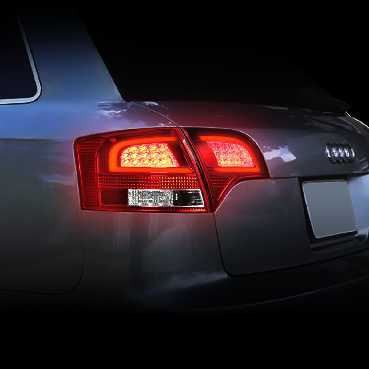 DNA Motoring TL-LED-3D-A405-CR 3D LED Tail Light Driver /& Passenger Side