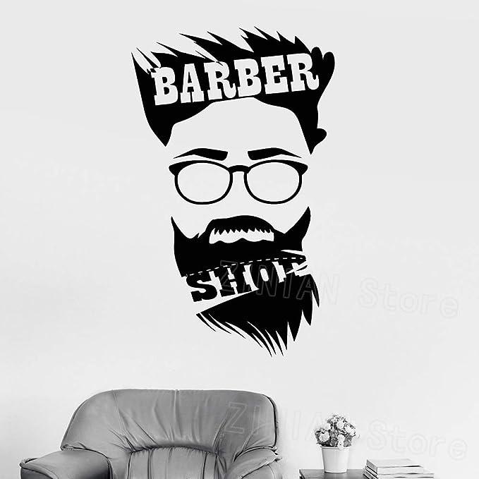 Barbería pegatinas para hombre peluquería peluquería ...