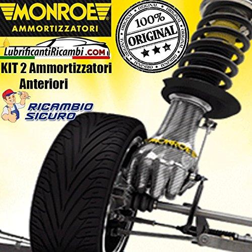 Kit 2 amortiguadores Monroe Original para Fiat Grande Punto (199) - 2 delanteras: Amazon.es: Coche y moto