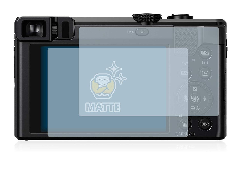 Pelicula Mate Anti-Huellas 2 Unidades brotect Protector Pantalla Anti-Reflejos Compatible con Panasonic Lumix DMC-TZ80