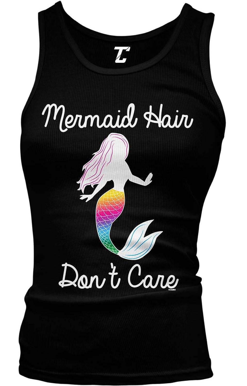 Mermaid Hair Don't Care - Magic Spirit Animal Juniors Tank Top