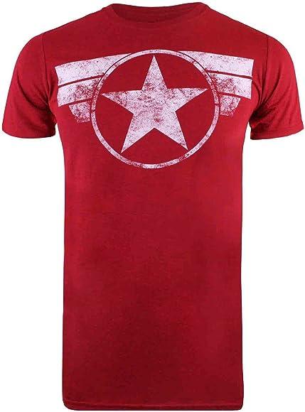 Marvel Ca Comic Shield T-Shirt Uomo