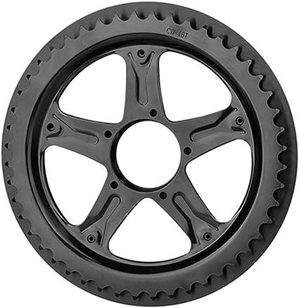 BAFANG BBS01 BBS02 E-Bike Chain Wheel and Replacement Chain Guard Black 44T 46T 48T 52T Chainwheel Teeth Black