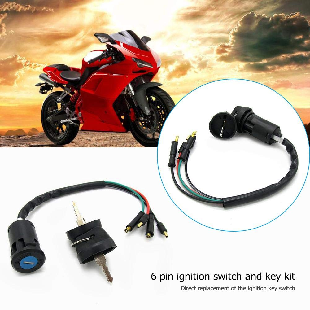 Cleansed Ignition Key Switch 35010-958-680 for ATC 200ES 200E Big Red 200M 125M ATV