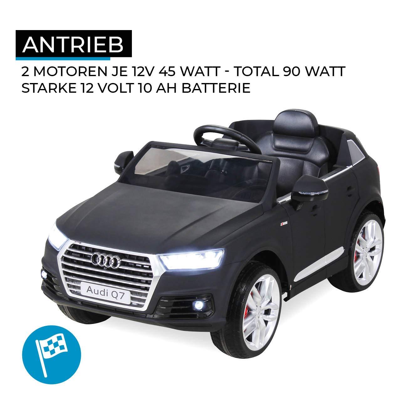 Véhicule Audi Enfants Originale Électrique Q7 2017 Voiture Licence TKJcu13lF