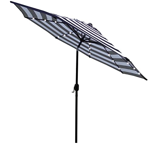 Led Umbrella Amazon: Black Patio Umbrellas: Amazon.com