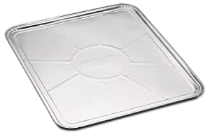 "Replace parts 20-Pack Disposable Foil Oven Liners – Keep Your Oven Clean and Healthy – Perfect Silver Foil Drip Pan Tray for Cooking, Baking, Roasting, and Grilling- 18.5 x15.5"" inch"