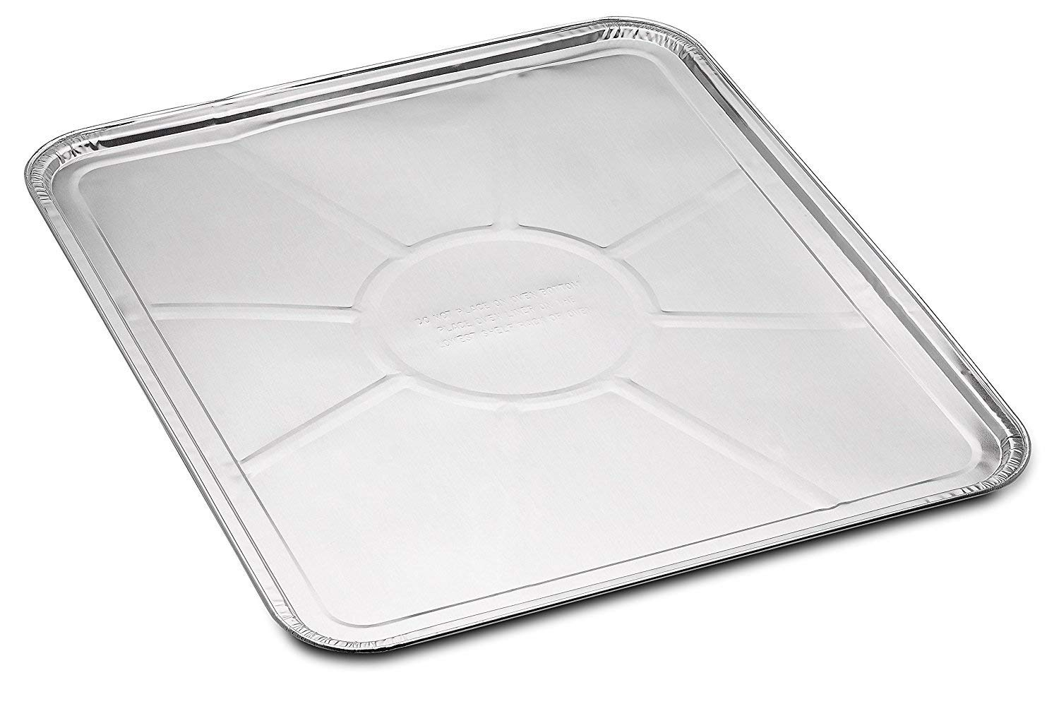 Replace parts 20-Pack Disposable Foil Oven Liners - Keep Your Oven Clean and Healthy - Perfect Silver Foil Drip Pan Tray for Cooking, Baking, Roasting, and Grilling- 18.5 x15.5'' inch