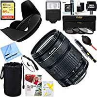 Canon EF-S 18-135mm f/3.5-5.6 IS STM Lens + 64GB Ultimate Filter & Flash Photography Bundle