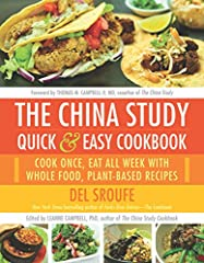 Following the plant-based nutrition regimen presented in The China Study is now easier than ever before.When it comes to meal planning, do you find yourself deciding between healthy foods and quick options? Do you stare at the contents of you...