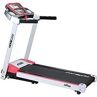Miweba Sports elektrisches Laufband Ht1000 - Incline 6% - Klappbar - 1,75 Ps - 16 Km/h - 12+4 Laufprogramme - Tablet Halterung - große Lauffläche