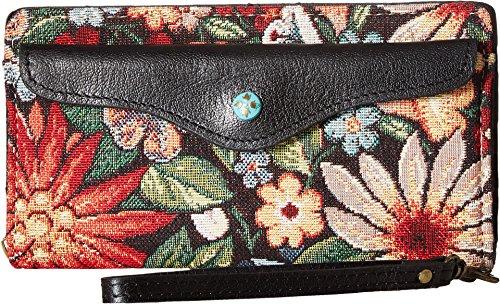 Patricia Nash Women's Wallet Valentia Clutch Wristlet Burton Tapestry