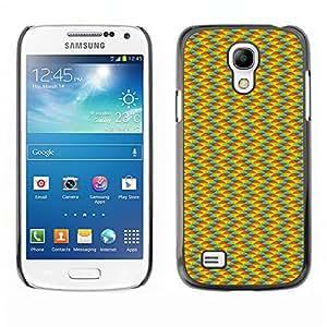 ZECASE Funda Carcasa Tapa Case Cover Para Samsung Galaxy S4 Mini I9190 No.0004215