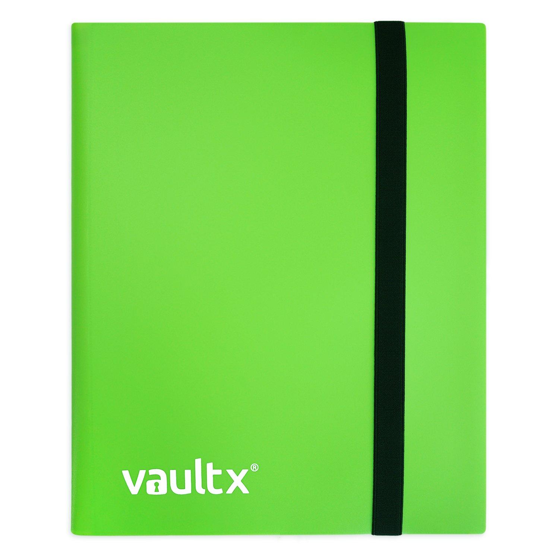 Vault X Classeur - Album Classeur de Cartes d'Échange avec 4 Poches - Classeur de Poche de Charge de 160 Côtés.