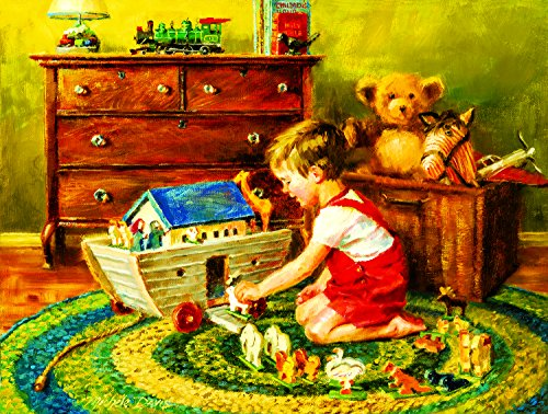 Playtime Noah's Ark 300 pc Jigsaw Puzzle by SunsOut
