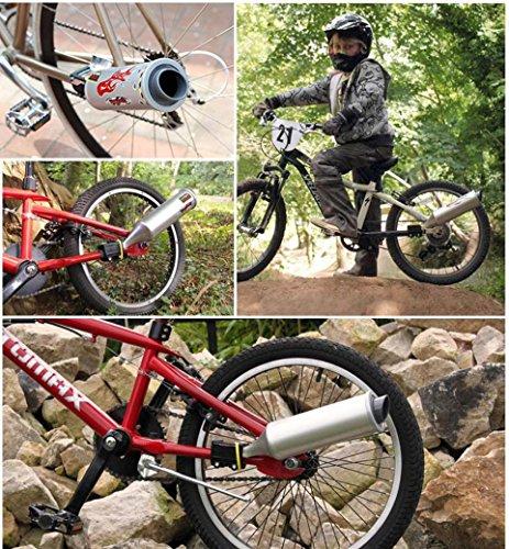 kasien Bicycle Turbo Pipe Motorcycle Megaphone Accessories by kasien (Image #2)