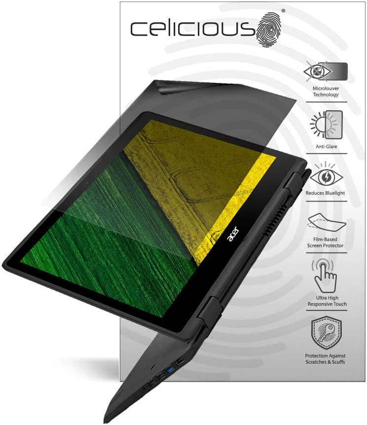Celicious Impact Anti-Shock Shatterproof Screen Protector Film Compatible with Acer Spin 5 SP513-53N