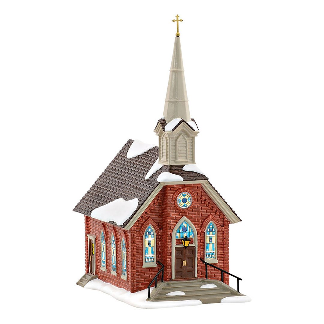 Dept 56 Snow Village Old St John's Church 4054776 Special Edition 2016 by Department 56