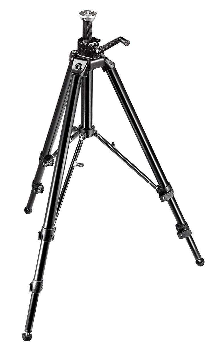 Manfrotto 475B Pro Geared Tripod without Head (Black) by Manfrotto