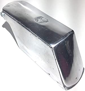 Made in Mexico Ice Shaver Authentic Mexican Raspador De Hielo Manual Raspahielo Polished Aluminum Adjustable Blade