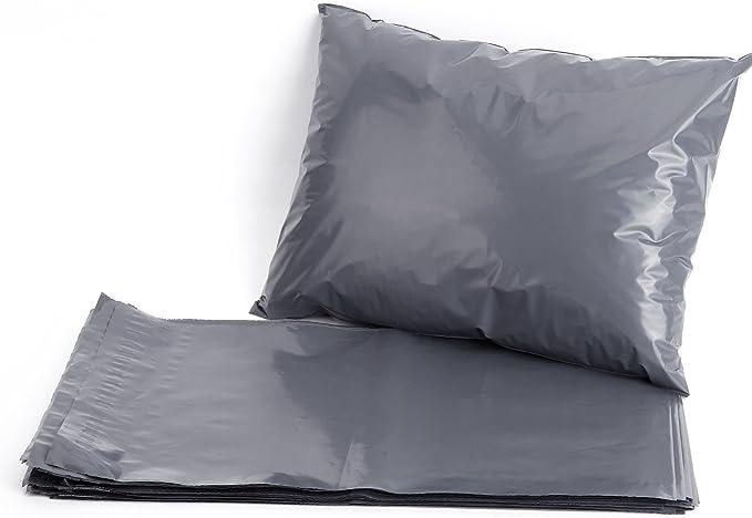 Versandtaschen Grau 14 x 19 50 St/ück Versandtaschen aus Polyethylen 355mm x 485mm Versandtaschen selbstklebend Versandtaschen Briefumschl/äge